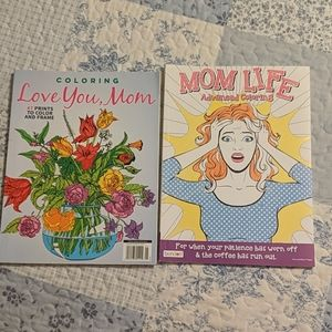 Mom coloring books